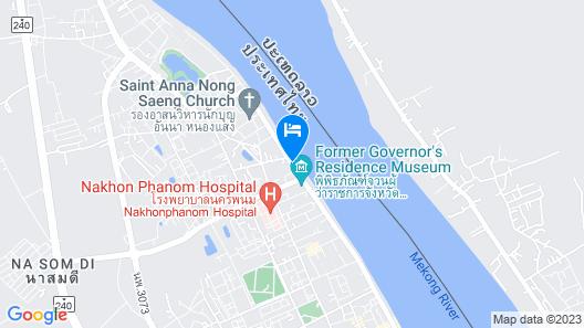 Baan Rim Khong Hotel Map