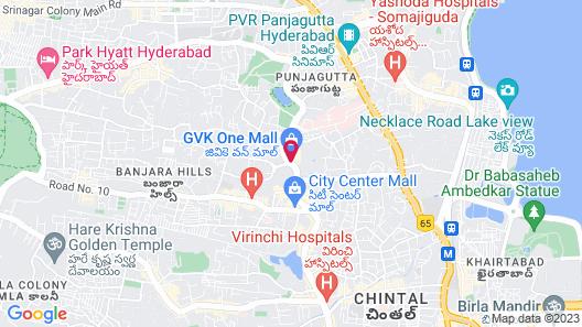 Taj Deccan Map