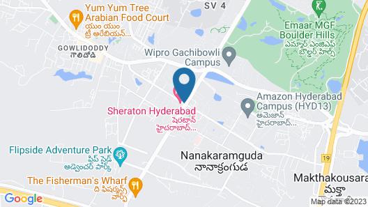 Fairfield by Marriott Hyderabad Gachibowli Map