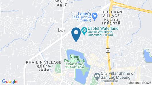 Wara Boutique Hotel Map