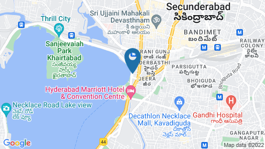 juSTa Hyderabad Map
