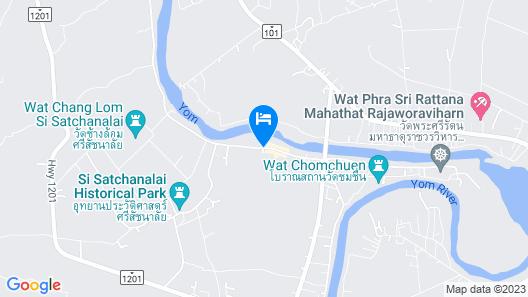 Sisatchanalai Heritage & Resort Map