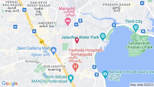ITC Kakatiya, a Luxury Collection Hotel, Hyderabad Map