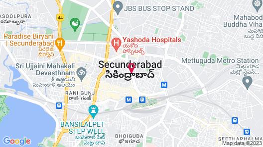 Hotel Saptagiri Map