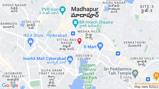The Westin Hyderabad Mindspace Map