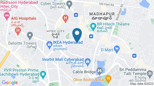 OYO 45978 Madhu Nest Map