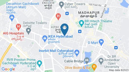 FabHotel Siri Inn Madhapur Map