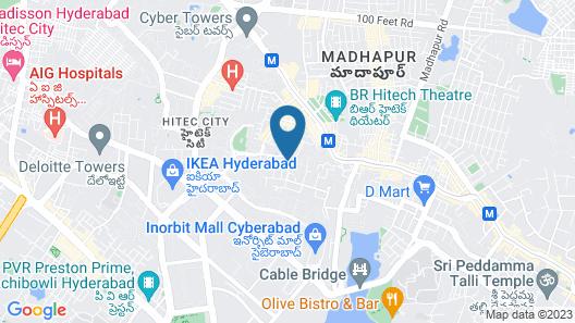 Fresh Living Prime Hi Tech Map