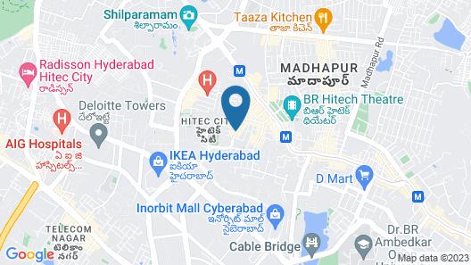 Cloud9 Homes Service Apartment Map