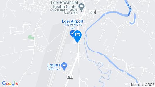 Muang Loei Airport Hotel Map