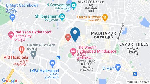 Kalpatharuvu Homes Map