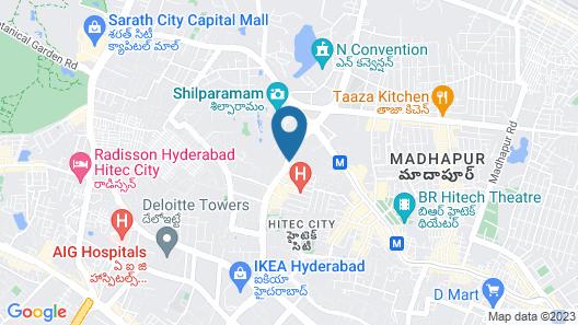 ibis Hyderabad Hitech City Hotel Map