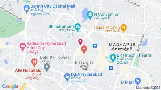 Trident Hyderabad Map