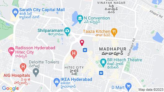 Avasa Hotels Map