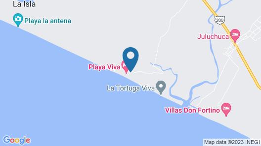 Playa Viva Map