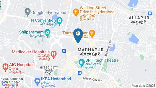 Ashoka Hitec City Map