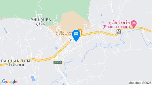 Na Phurua Hostel Map