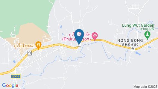 Phurua Bussaba Resort & Spa Map