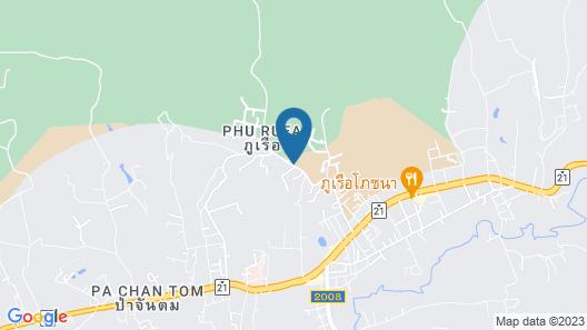 Phufahsai Resort Phurua Map