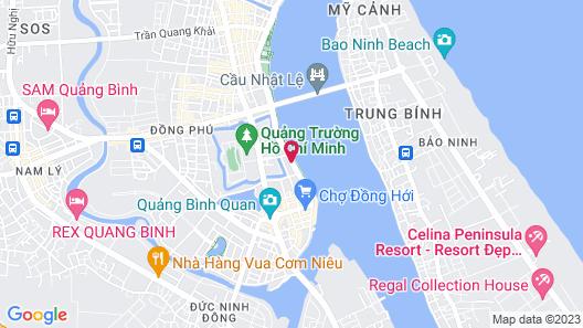 Sai Gon Quang Binh Hotel Map