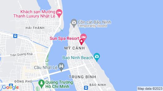Sun Spa Resort & Villas Map