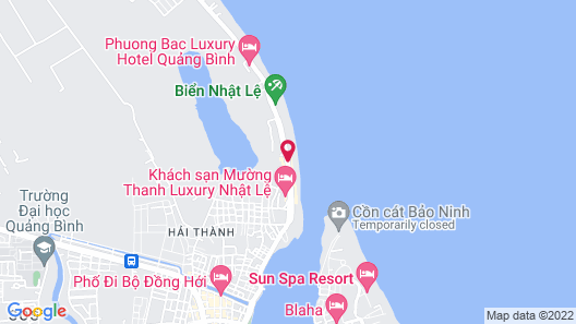 Muong Thanh Holiday Quang Binh Hotel Map