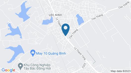 Hoang Dat hotel Map