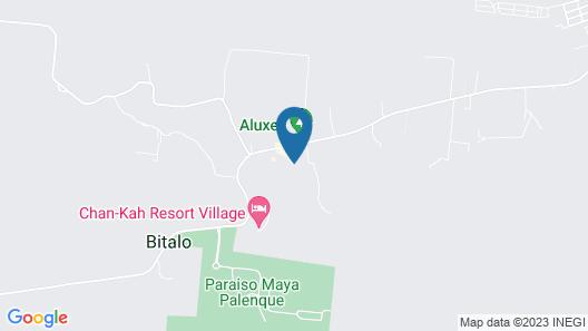 Hotel La Aldea del Halach Huinic Map