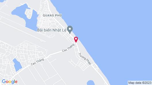 Sea Star Resort Quang Binh Map