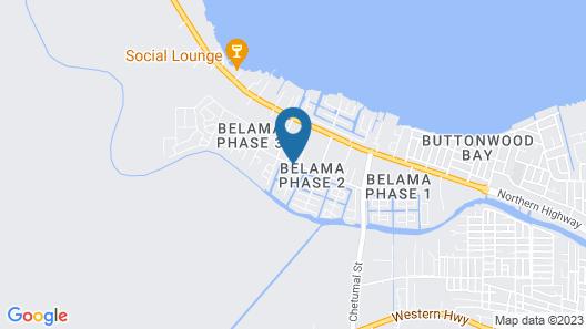 Casa Belize Map