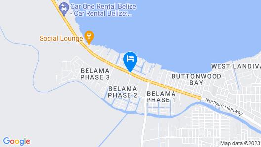 Best Western Plus Belize Biltmore Plaza Map