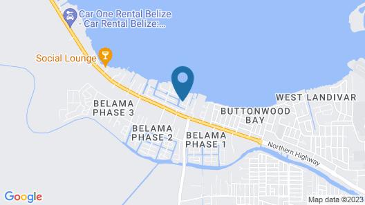 The Red Hut Inn Map