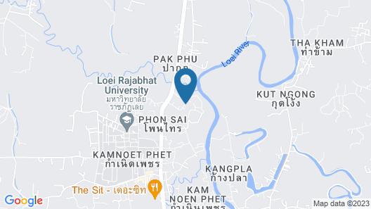 Na Loei Boutique Resort Hotel Map
