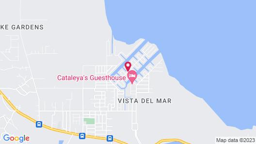 Bamboleo Inn Belize Map