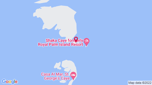 Royal Palm Island Resort Map