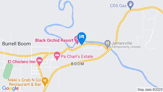 Black Orchid Resort Map