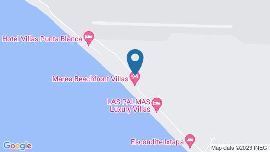 Marea Beachfront Villas Map