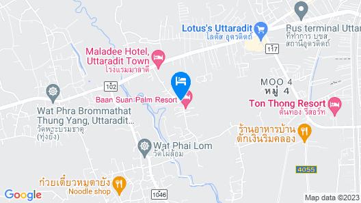 Baan Suan Palm Resort Map