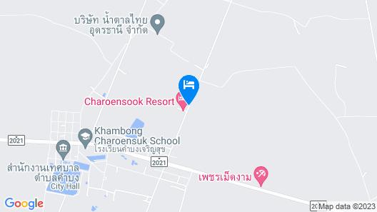 Charoensook Resort Map