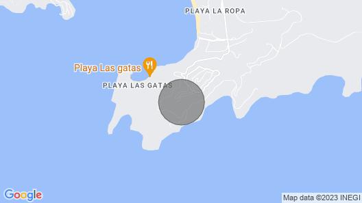 Stunning Bayview Zihuatanejo Luxury Villa Casa Espiritu Map