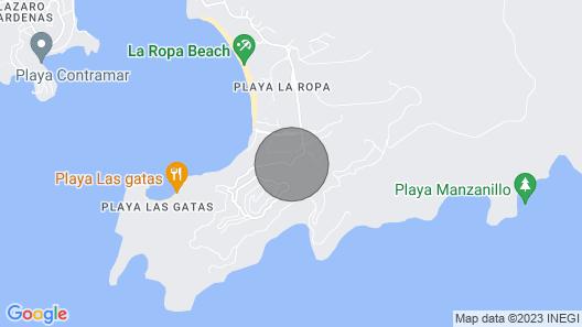 4 Bdrm Waterfront Property Overlooking Playa La Ropa Map