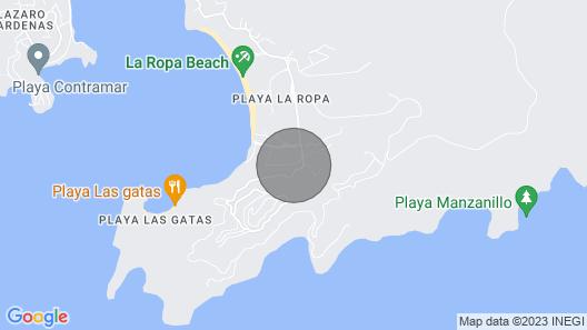 Casa Cocos - Bungalow en La Ropa  Map