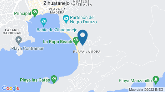 Vista Bahia, a Luxurious 1,2 or 3 Br/3 BA Condo-playa La Ropa Map