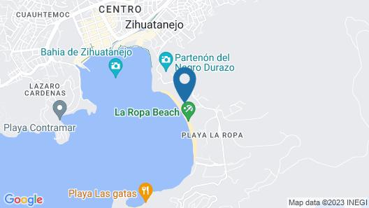Hotel Villa Mexicana Map