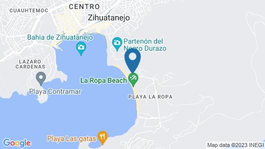 Beautiful Beach Apartment Map