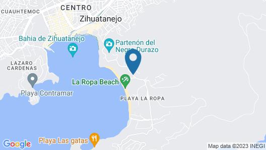 La Villa Luz Adults Only  Map