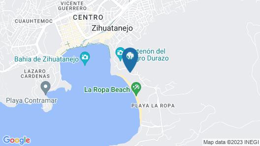 Catalina Beach Resort Map