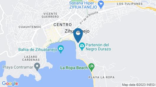 Hotel Irma Map