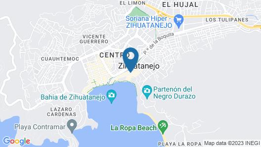 Villas Mercedes Map