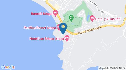 Pacífica Resort Ixtapa Map